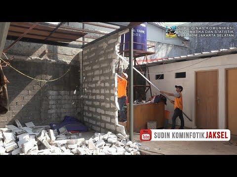 Tanpa IMB  Sebuah Bangunan di Lebak Bulus Ditertibkan - Kamis 13 September 2018 Mp3