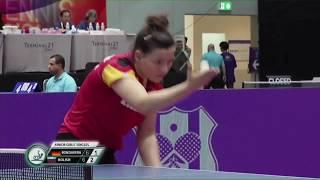 Анастасия Колиш vs Anastasia Bondareva (GER) ITTF WJTTC 2019
