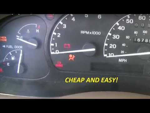 Airbag Light Stays On - Cheap and Easy Fix! - YouTube