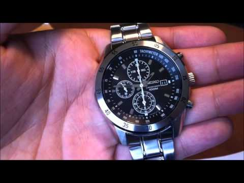 seiko alarm chronograph instructions