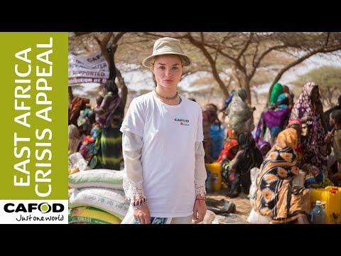 Emma Rigby in northern Kenya  CAFOD