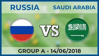 RUSSIA - SAUDI ARABIA ⚽ Group A - FIFA World Cup ⚽ 14/06/2018 [H2H]