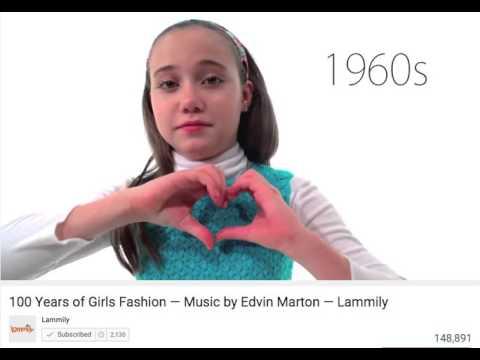 f785340bf 100 Years of Girls  Fashion - Lammily - YouTube