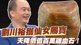 【精華版】劉川裕獲仙女賜寶 天降價值百萬雞血石!