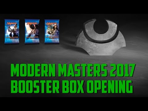 Modern Masters 2017: Booster Box Opening