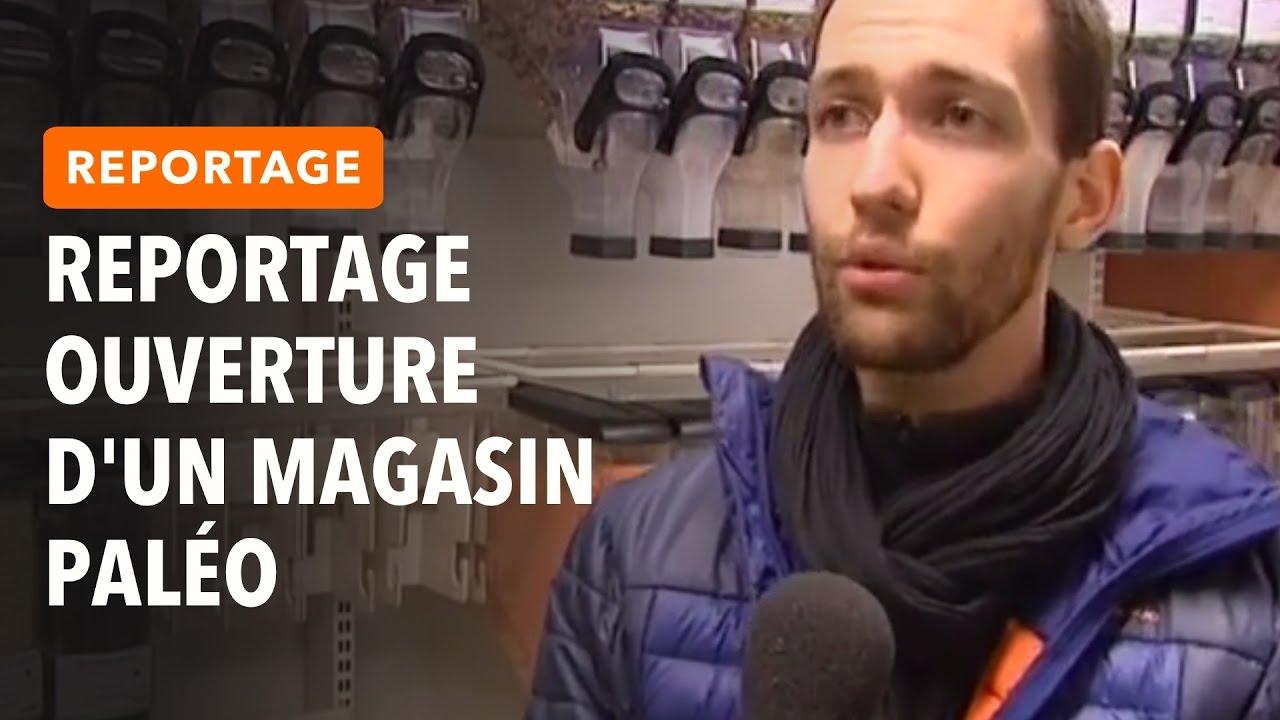 REPORTAGE FRANCE 3 SUR L'OUVERTURE D'UN MAGASIN PALÉO (SYNERGY PALÉO) EN FRANCHE-COMTÉ