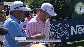 Golf : L'Open de France déplacé en octobre et dégradé