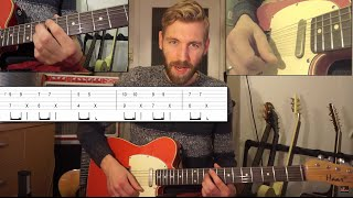 Justin Bieber - Love Yourself | Guitar Lesson | How to play | Video tutorial - Chords and Tabs