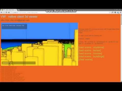 2012 구글 핵페어 출품작 VW : Native Client + OpenGL ES 데모