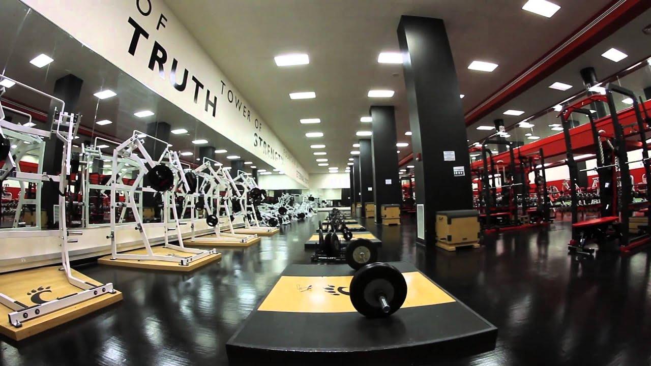 The university of cincinnati athletic facility video