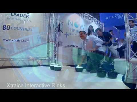 Xtraice Interactive Rinks - #EAS2016 Barcelona