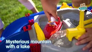 Vízi pálya AquaPlay Mountain Lake barlanggal, csús