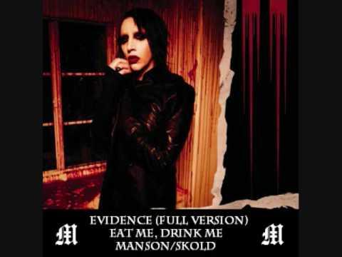 Marilyn Manson - Evidence (Full Non-Album Version)