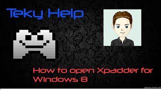 How to use Xpadder on Windows 8