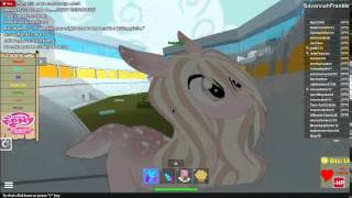 Playing Roblox TPP my little pony roleplay