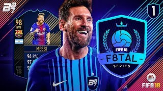 F8TAL! TOTY MESSI DEBUT! | FIFA 18 ULTIMATE TEAM! #1