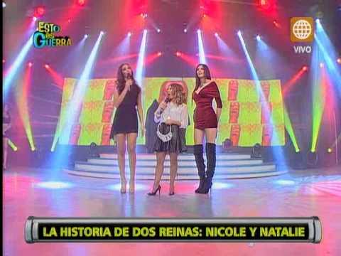 Natalie Vértiz y Nicole Faverón tuvieron un intercambio de palabras por la corona de Miss Perú
