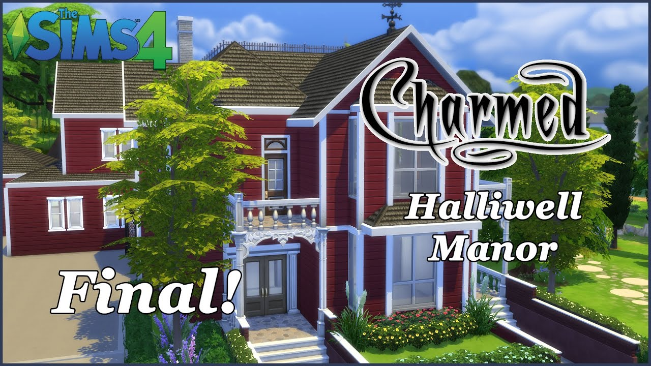 The Sims 4 Halliwell Manor Charmed Final Download Youtube