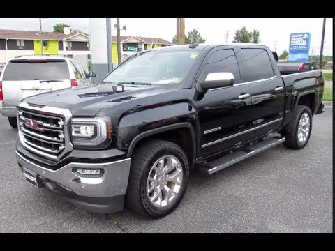 2016 GMC Sierra 1500 SLT Walkaround, Start up, Tour and Overview