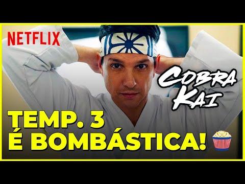 Cobra Kai: PANCADARIA e NOSTALGIA PURA na 3ª Temporada | Netflix