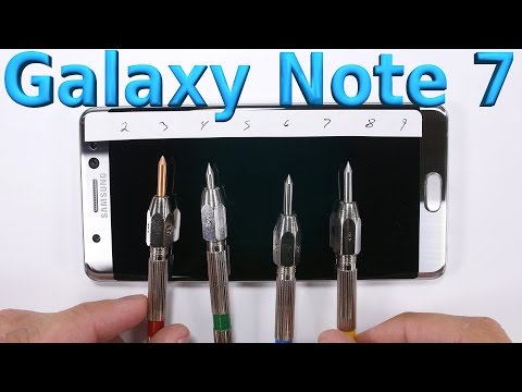 Galaxy Note 7 - Durability video