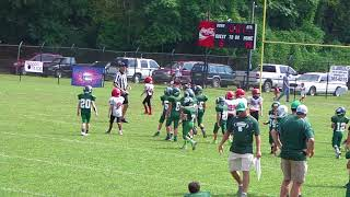 Midway Hoppers Football vs Spring City 9 23 17 Clip 18 of 18  IMGA0572