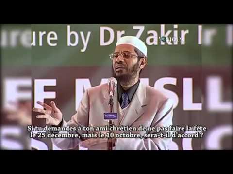 Noel Pour Les Musulmans Noël pour les Musulmans _Dr Zakir Naik   YouTube