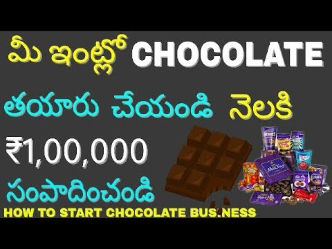 How to start chocolate making business at home and earn money ...