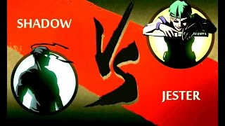 How to play Game/ Shadow Fight 2/ Shadow vs Jester