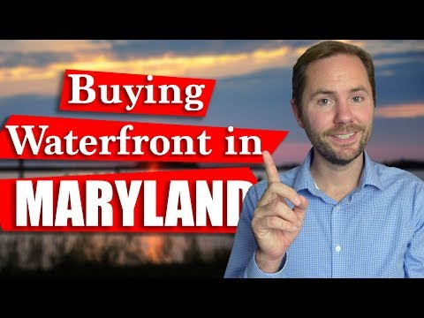 Maryland Waterfront Homes - What To Know Before Buying🤔