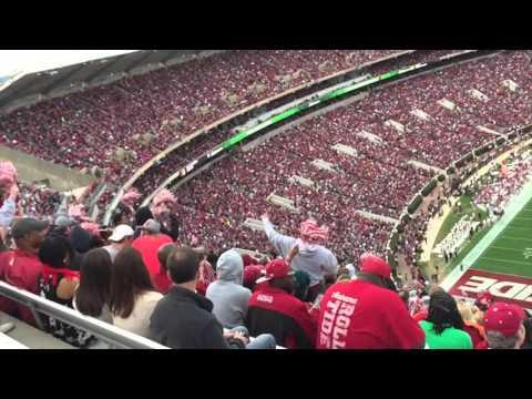 Alabama Crimson tide football stadium- Time lapse