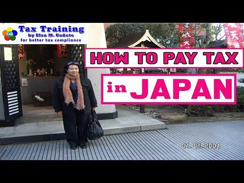 How To Pay Tax In Japan