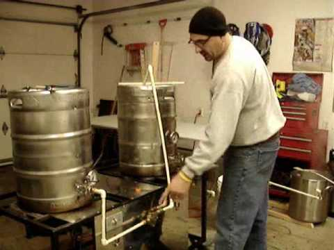Home Brewing All Grain Building Rims System Youtube