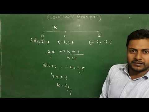 CBSE Class 10 COORDINATE GEOMETRY PART 3 section formula