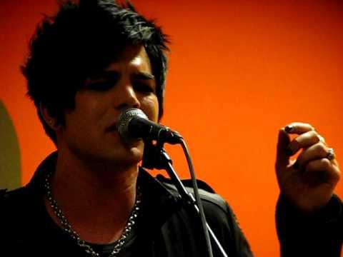 Adam Lambert - Whataya Want From Me @ 3fm, The Netherlands