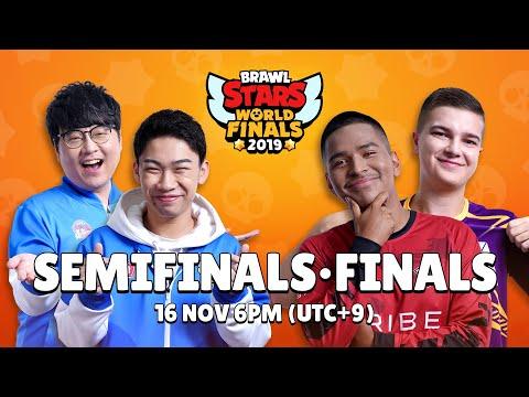 Brawl Stars World Finals 2019 - Semi Finals & Finals