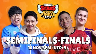 Brawl Stars World Finals 2019 - Semi Finals & Finals