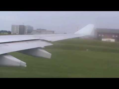 Air Canada A330-300 Pushback taxi and takeoff@Montreal