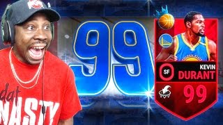99 OVERALL NBA RULER KEVIN DURANT! NBA Live Mobile 16 Gameplay Ep. 62