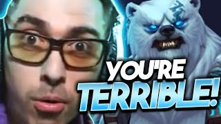 YOU'RE TERRIBLE AT THE GAME!! @Trick2G