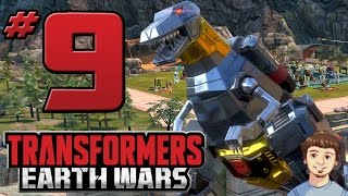 transformers earth wars gameplay part 9 grimlock hype