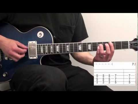 How To Play Call Me Maybe Electric Guitar Lesson Carly Rae Jepsen