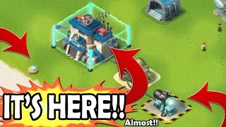 HQ 21, Shield Generator, & Shock Mine OH MYY!! | Boom Beach October Update Confirmed!