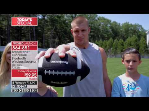HSN | Brookstone Celebration featuring Rob Gronkowski 07.12.2017 - 05 PM
