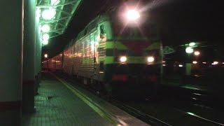 Электровоз ЧС7-086 с поездом Саранск - Москва(, 2016-08-13T18:13:35.000Z)