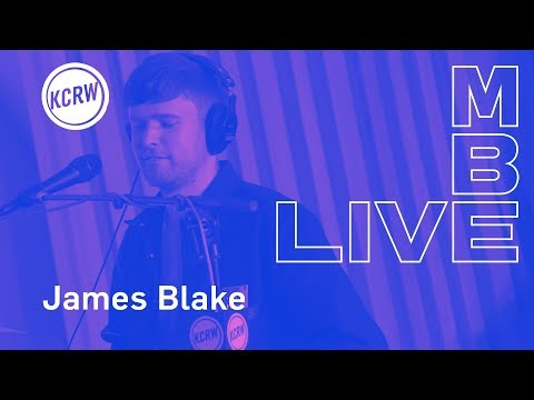 "James Blake performing ""Assume Form""  on KCRW"