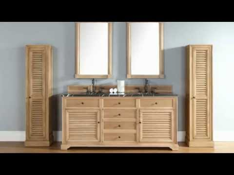 NEW James Martin 72 Double Savannah Bathroom Vanities in Solid – Real Wood Bathroom Vanities