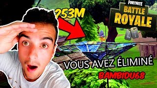 MON RECORD DE 250 MÈTRES ENCHAÎNÉS AU SNIPER !! (Fortnite Battle Royale)
