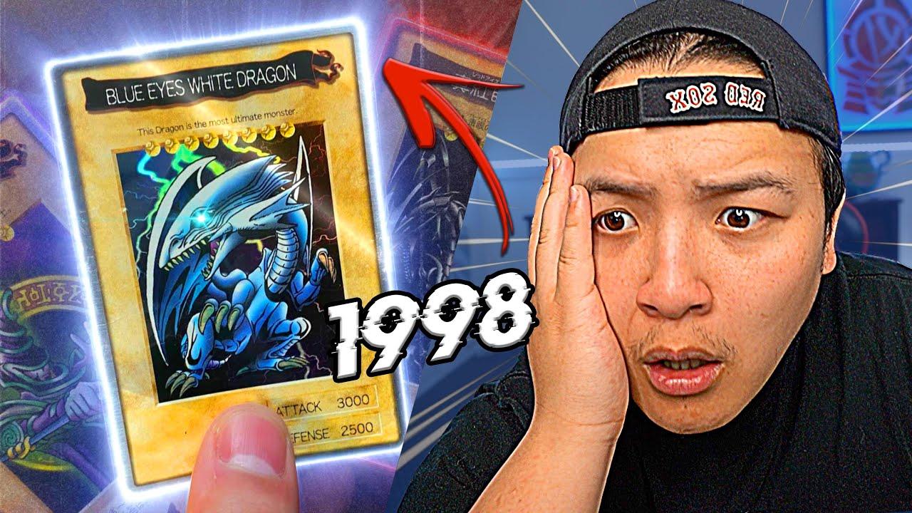 Opening FIRST EVER Yu-Gi-Oh Cards! (Original Bandai 1998 Cards)