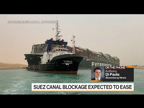 Stuck Ship in Suez Canal Holds Up Oil and LNG Shipments